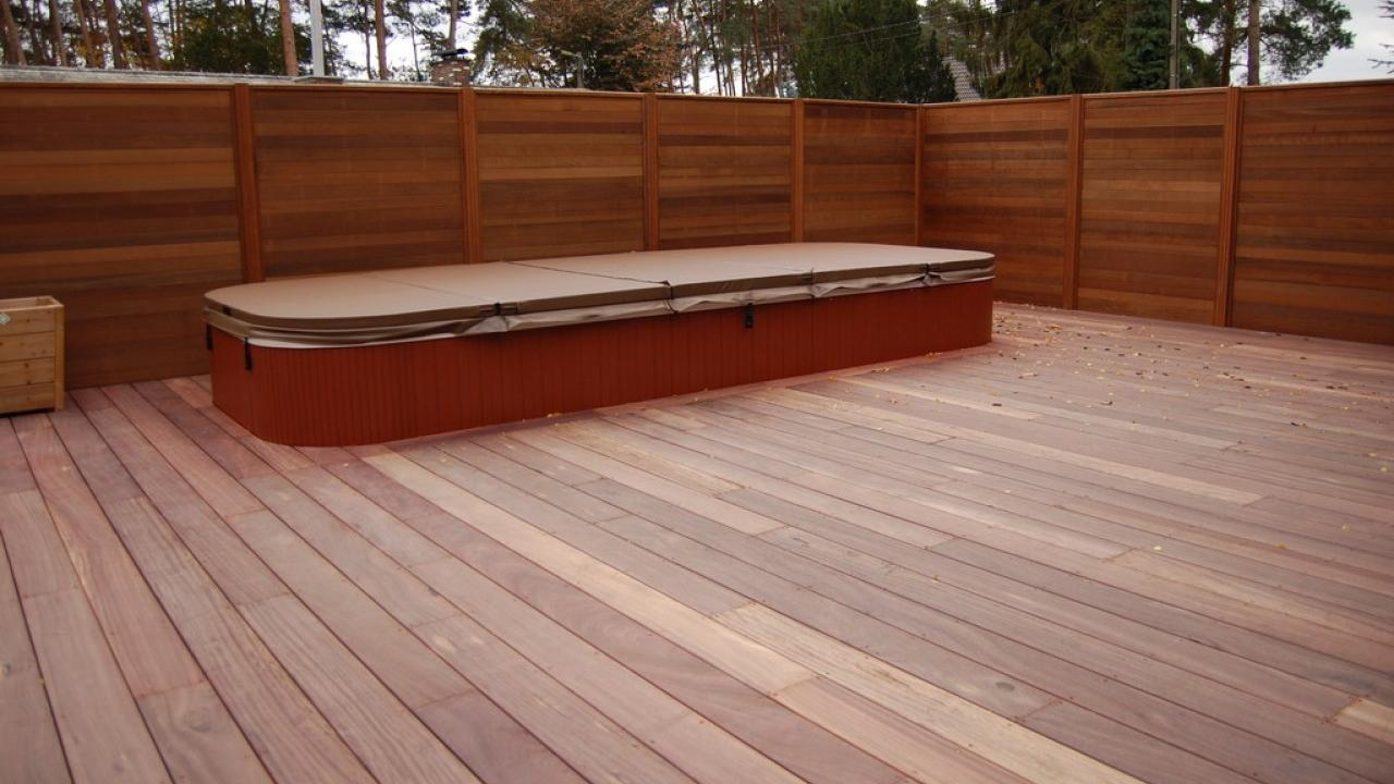 Onze producten houten terras for Bankirai terras